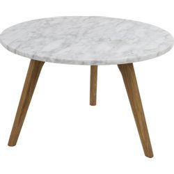 Zuiver White Stone Side Table L