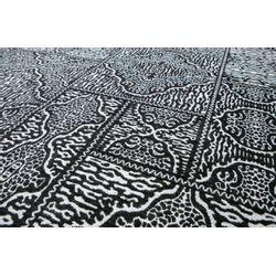 Woood Renna Vloerkleed Zwart/wit 200x300cm