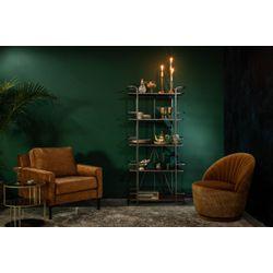 Dutchbone Houda Lounge Chair Caramel