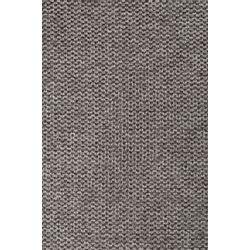 White Label Living Chair Jolien Black/Grey