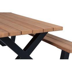 Woood Tablo Outdoor Picknicktafel Naturel - 210 CM