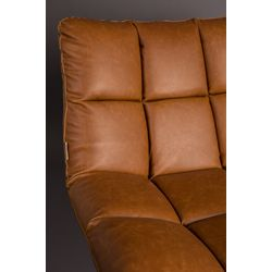 Dutchbone Bar Lounge Chair Vintage Bruin