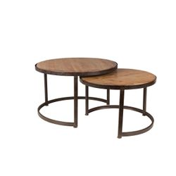 White Label Living Coffee Table Jack Set Of 2