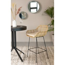 White Label Living Counter Stool Tiger