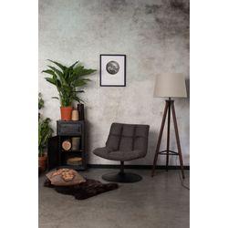 Dutchbone Bar Lounge Chair Donkergrijs