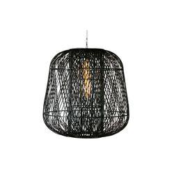 Woood Moza Hanglamp Bamboe Zwart - 100 CM