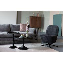 Zuiver Dusk Lounge Chair Dark Grey