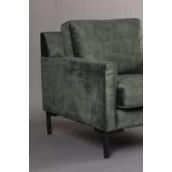 Dutchbone Houda Lounge Chair Groen