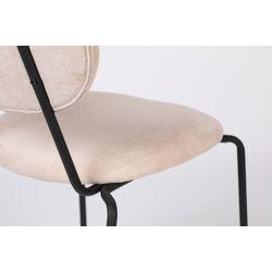 White Label Living Chair Aspen Light Pink
