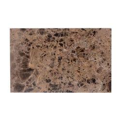 Richmond Interiors Sofa tafel Orion met bruin marmer (Bruin)