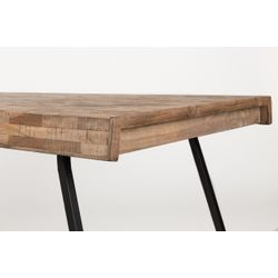 White Label Living Table Suri 220X100 Natural