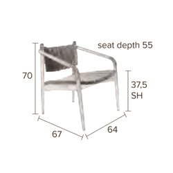 Dutchbone Torrance Lounge Chair