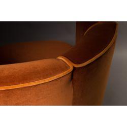 Dutchbone Flower Lounge Chair Oranje