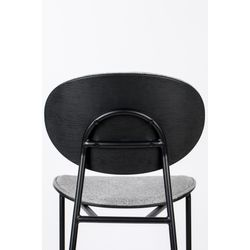 White Label Living Chair Donny Grey