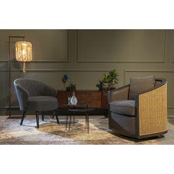 Dutchbone Amaron Lounge Chair Naturel/Grijs
