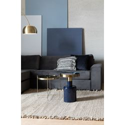 Zuiver Glam Side Table Blauw