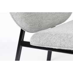 Zuiver Spike Lounge Chair Grijs