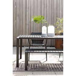 Zuiver Vondel Garden Table Zwart - 168,5 CM