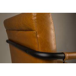 Dutchbone Stitched Armstoel Cognac