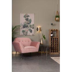 Dutchbone Kate Lounge Chair pink clay