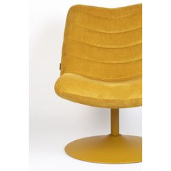 Zuiver Lounge Chair Bubba Ochre