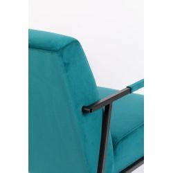 White Label Living Lounge Chair Wakasan Teal