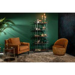 Dutchbone Madison Lounge Chair Whiskey