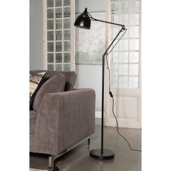 Zuiver Reader Vloerlamp Zwart