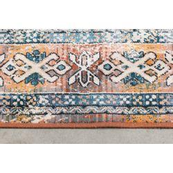 Dutchbone Mahal Vloerkleed Blue Brick - 200 x 300 CM