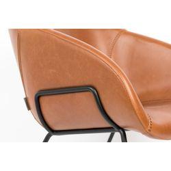 Zuiver Feston Lounge Chair Bruin