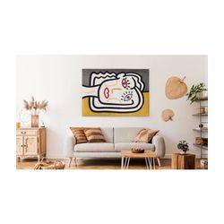 Louis de Poortere Dora & Graffito Dorado - 200 x 280 CM