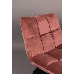Dutchbone Bar Lounge Chair Oud Roze