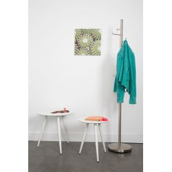 White Label Living Side Table Daven White Set Of 2