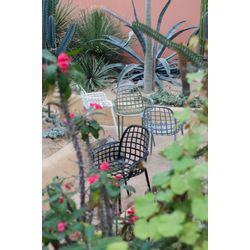 Zuiver Albert Kuip Garden Stoel Lichtgrijs