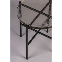 Dutchbone Vidrio Side Table Black