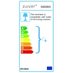 Zuiver Cable Drop Hanglamp Wit