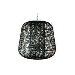Woood Exclusive Moza Hanglamp Bamboe Zwart 100x100cm