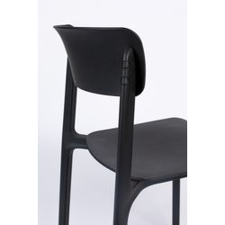 White Label Living Chair Clive Black