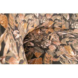 BePureHome Vogue Fauteuil Fluweel Bouquet Zwart