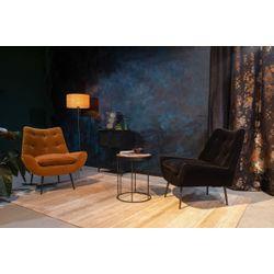 Dutchbone Glodis Lounge Chair Zwart