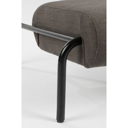 Zuiver Lekima Lounge Chair Donkergrijs