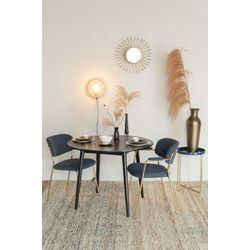 White Label Living Table Fabio 120' Black