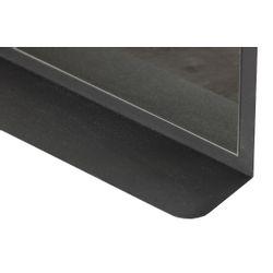 Woood Cliff Passpiegel Metaal Zwart 130x50cm