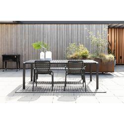 Zuiver Vondel Garden Table Zwart - 214 CM