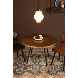 White Label Living Table Denise Round Table