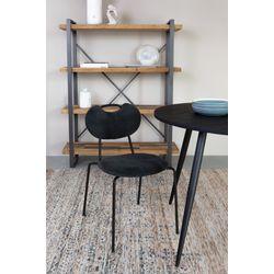 White Label Living Chair Aspen Black
