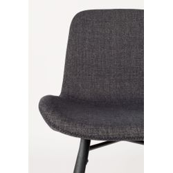 White Label Living Chair Lester Anthracite