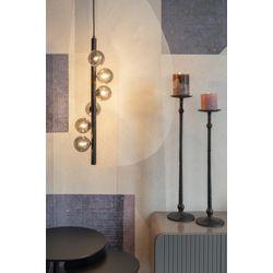 White Label Living Pendant Lamp Monica Smoke