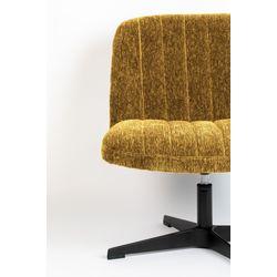 White Label Living Lounge Chair Belmond Rib Ochre