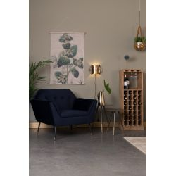 Dutchbone Kate Lounge Chair Blauw